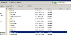 SYSVOL_dfsr directory