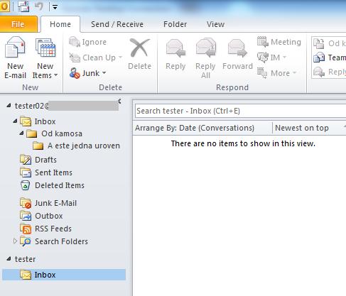 Inbox view