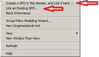 Aplikovanie GPO na OU