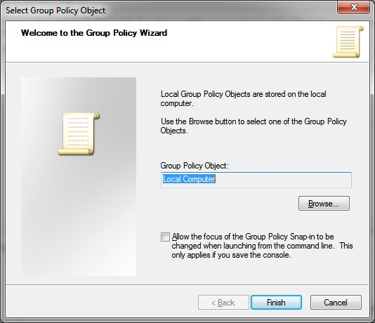 Add Group Policy Editor