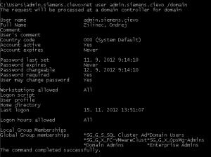 net user /domain