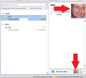 Outlook with pictures