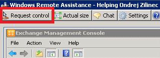 Request control