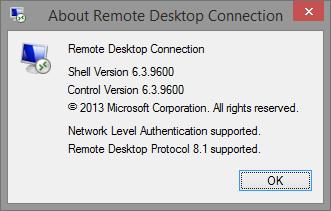 Image result for remote desktop 8.1 windows 7