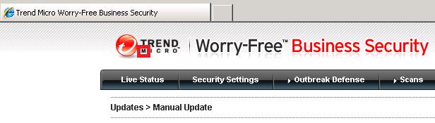 TrendMicro Worry-Free